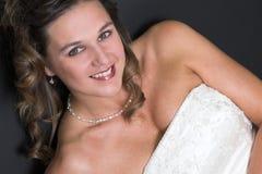 Sposa radiante fotografia stock