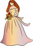 Sposa (rossa) Immagine Stock
