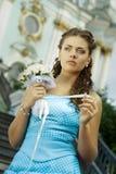 Sposa triste Immagini Stock