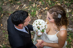 Sposarsi Fotografia Stock