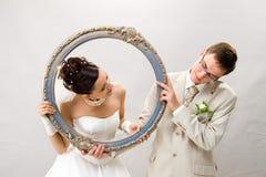 Sposato. Fotografie Stock Libere da Diritti