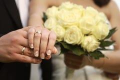 Sposato appena fotografie stock libere da diritti