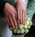 Sposato appena Fotografia Stock Libera da Diritti