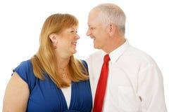 Sposato e migliori amici fotografie stock
