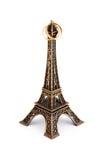 Sposato sotto la torre Eiffel Fotografia Stock Libera da Diritti