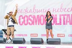Spose cosmopoliti, Mosca, 2013 di instabilità Fotografia Stock Libera da Diritti