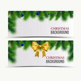 Sposi cartolina d'auguri del nuovo anno e di Natale - vector l'illustrazione immagine stock