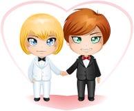 Sposi del gay che sposano 2 Immagini Stock