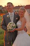 sposo della sposa Immagine Stock Libera da Diritti