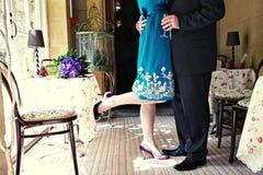 sposo della sposa Fotografia Stock Libera da Diritti