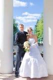 sposo della sposa immagine stock