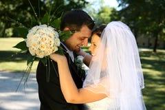 sposo della sposa Immagini Stock