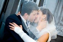 Sposo e sposa immagini stock libere da diritti