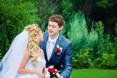 Sposo e sposa Immagine Stock Libera da Diritti
