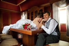 Sposo felice Fotografia Stock Libera da Diritti
