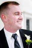 Sposo felice dei giovani immagini stock libere da diritti