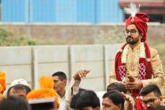 Sposo - India Fotografia Stock