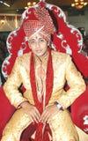 Sposo indiano Immagini Stock