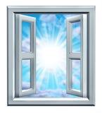 sposobności okno Obraz Royalty Free