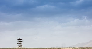 Sposobu nieba błękita wieża obserwacyjna Obraz Stock