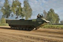 Sposoby przeprawianie wojskowego wyposażenie Obraz Stock