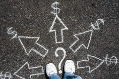Sposoby zarabiać Obraz Stock