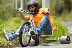Spostamento estremo di Trike di sport Immagini Stock Libere da Diritti