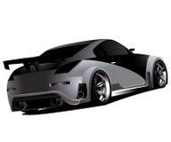 Spostamento personalizzato dei Nissan 350z turbo di nismo Immagini Stock