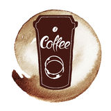 Spot Coffee Royalty Free Stock Image