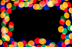 Spot frame. Celebration colored spot frame background Royalty Free Stock Photography