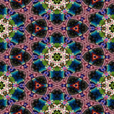 Spot kaleidoscopic seamless generated hires texture. Or background Royalty Free Stock Images