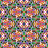 Spot kaleidoscopic seamless generated hires texture. Or background Royalty Free Stock Photography