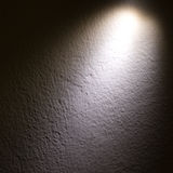 Spot light beam on wall. Abstract spot light beam on wall Stock Images