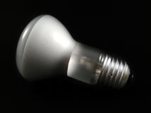 Spot light bulb Royalty Free Stock Photography