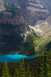 Spot light on Moraine Lake Royalty Free Stock Photo