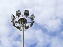 Spot-light tower Stock Image