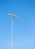 Spot light tower Royalty Free Stock Images