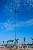 Spot light tower Stock Images