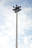 Spot-light tower Stock Images