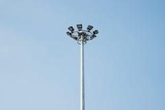 Spot light tower Stock Photo