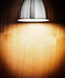 Spot light on wall Royalty Free Stock Photos