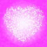 Spot of many hearts Stock Photo