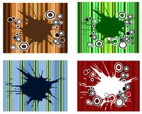 Spot n Stripes Set Collection Royalty Free Stock Image