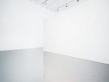 Spot omhoog van wit binnenland 3d geef terug Royalty-vrije Stock Afbeeldingen