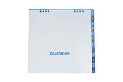 Spot op kalender Royalty-vrije Stock Foto's