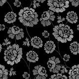 Spot ornate floral Stock Images