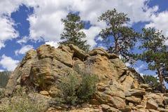 The Spot. A rocky outcropping in Rocky Mountain National Park, Colorado Stock Photography