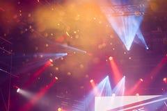 Spot Stage lights Stock Image
