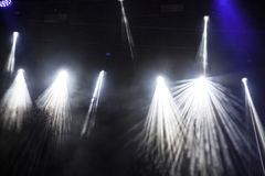 Spot Stage lights at concert royalty free stock images