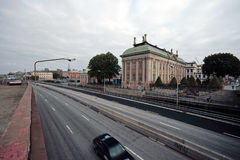 Spot of Stockholm street. Spot of Swedish, look at the beautiful architecture Stock Images